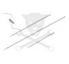 Hubi Tools Motor-hengerfej-EGR furattisztító flexibilis spec.fúró klt.3 db-os (HU41035) tisztítószer