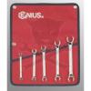 GENIUS TOOLS Fékcsőkulcs készlet colos Genius (FN-005S)