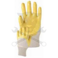 Kesztyű sárga nitril 10-es Houston (K036-10)