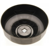 BGS Technic Olajszűrő leszedő kupak 106 mm x 15 lap BGS 1039-ből (9-1039-106-15)