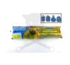 Szemetes zsák behúzószalagos 60l 55x62cm 23my ( SZZSB60L ) takarító és háztartási eszköz