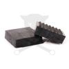 PTC Gumikocka négyzet alacsony 120x120x40 mm-es alul bütykös (GK120x120-G)