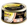 Gimpet GimCat ShinyCat 6 x 70 g - Csirke & garnéla