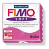 Gyurma, 56 g, égethető, FIMO Soft, málna