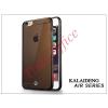 Kalaideng Apple iPhone 6 Plus szilikon hátlap üveg képernyővédó fóliával - Kalaideng Air Series - black