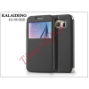 Kalaideng Samsung SM-G920 Galaxy S6 flipes tok - Kalaideng Sun Series View Cover - black