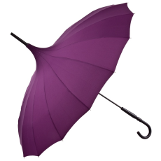 Lila pagoda esernyő