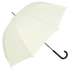 Elegáns Swarovski kristályos esernyő, krém szín