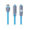 2 az 1-ben speciálisan alakítható USB kábel