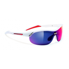 Rudy Project Ability Racing White - Multilaser Red lencsével + Transparent lencse