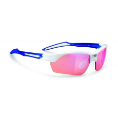 Rudy Project Swifty White Gloss / Blue - Racing Red™ lencsével