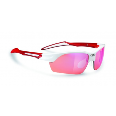 Rudy Project Swifty White Gloss / Red - Racing Red™ lencsével