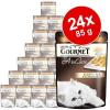 Gourmet A la Carte 24 x 85 g - Pisztráng & zöldség
