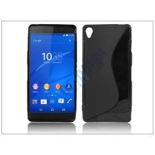 Sony Sony Xperia Z3 (D6603) szilikon hátlap - S-Line - fekete tok és táska
