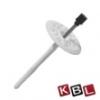 KBL-Hungária Fémszeges tárcsás dübel 10x260 mm