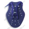Tenyérellenállás pár ,úszás edzéssegítő eszköz 220x160mm, L nagy méret