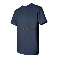 Gildan Kereknyakú póló Tengerészkék S