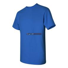 Gildan Kereknyakú póló Királykék XL