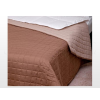 Laura microfiber ágytakaró Barna-drapp 235x250 cm