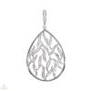 Fehér arany medál gyémánttal - 232904