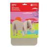 APLI Puzzle, 3D, moosgumi, , elefánt