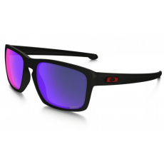 Oakley SILVER Matte Black Positive Red Iridium