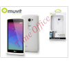 Muvit LG H340N Leon hátlap - Muvit miniGel - transparent tablet kellék