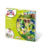 """FIMO Gyurma készlet, 4x42 g, égethető, FIMO """"Kids Form & Play"""", lovagok"""