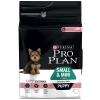 Pro Plan Small & Mini Puppy Sensitive Skin lazac & rizs - 3 kg