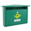 NEMMEGADOTT postaláda Alpesi-3 záras zöld horg. CS