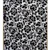 d-c-fix fekete virág mintás öntapadós tapéta