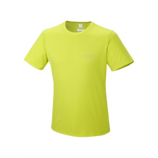 Columbia Zero Rules Short Sleeve Shirt D (AM6084k_380-Chartreuse) Férfi t-shirt