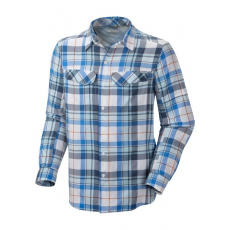 Columbia Silver Ridge Plaid Long Sleeve Shirt D (AM7441k_100-White) Férfi ing