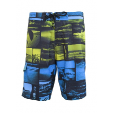 Fundango Rainbow D (1BM101_215-Sun) Férfi beach short