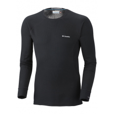 Columbia Men's Heavyweight Long Sleeve Top D (AM6889l_010-Black) Férfi sport aláöltözõ