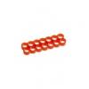 E22 , 14-slot kábelrendezõ piros 4 mm kábelhez