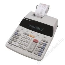 Sharp Számológép, szalagos, 12 számjegy, 2 színű nyomtató, SHARP EL1607P (SHEL1607P) számológép