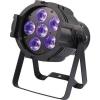 Renkforce LED-es PAR fényszóró 6 LED-del, Renkforce RDM PAR 6 x 10 W