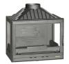 LAUDEL 700 Compact 3 oldalüveges tűztérbetét kályha, kandalló