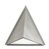 EGLO 83758 - TRIGO kültéri fali lámpa 1xE27/100W ezüst/fehér