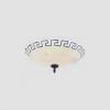 GLOBO 6889 - RUSTICA mennyezeti lámpa 2xE27/60W
