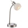 GLOBO 54341-1T - LED asztali lámpa ELLIOTT 1xE14/4W/230V