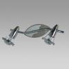 Prezent 12026 - ZEUS mennyezeti spotlámpa 2xE14/R50/40W matt króm/króm