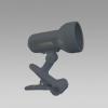 Prezent 20024 - CENTRO csipeszes lámpa 1xE14/R50/40W ezüst