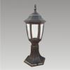 Prezent 48301 - NICOSIA kültéri lámpa 1xE27/60W fekete/arany IP44