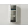 Beliani Fürdoszoba bútor - Szekrény - Fali szekrény - Fehér - BILBAO