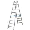 KRAUSE STABILO két oldalon járható biztonsági állólétra 2x10 fokos (kék) 124937
