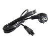 Art Supply Cable for Notebook 3 pin VDE 1,8M oem laptop kellék