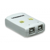MANHATTAN Hi-Speed USB 2.0 Automatic Sharing Switch 4 PC - 1 USB