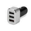 Ednet USB Car charger 3xUSB (2,1A/2A/1A), black